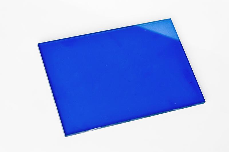 宝蓝色耐力板